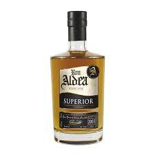 Rhum « Aldea » Superior 10 ans vieillissement millésime 2003