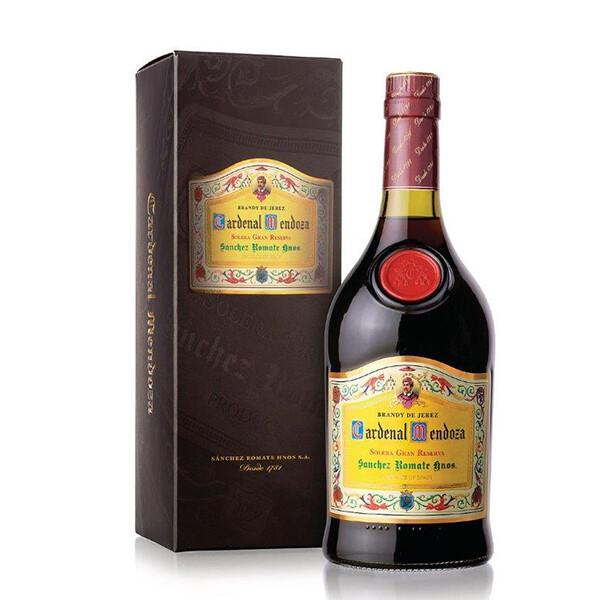 Brandy de xérès Cardenal Mendoza Solera Gran Reserva 15 ans