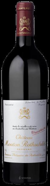 Mouton Rothschild 2014 1er Grand cru classé Pauillac, Bordeaux rouge