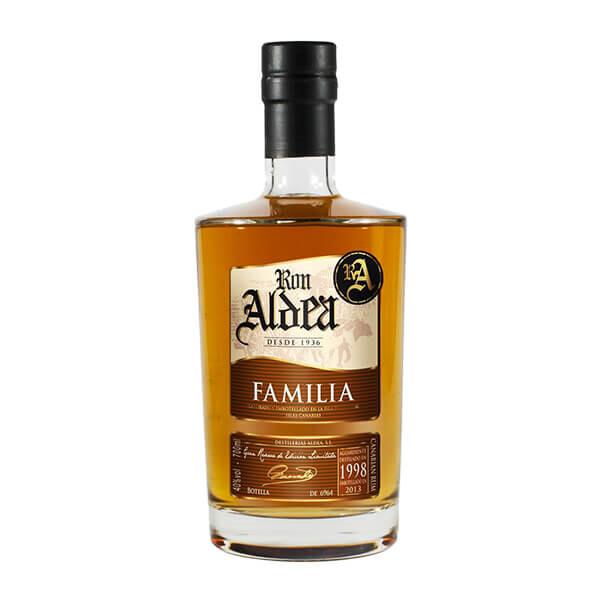 Rhum « Aldea » Réserve de la famille 15 ans vieillissement millésime 1998