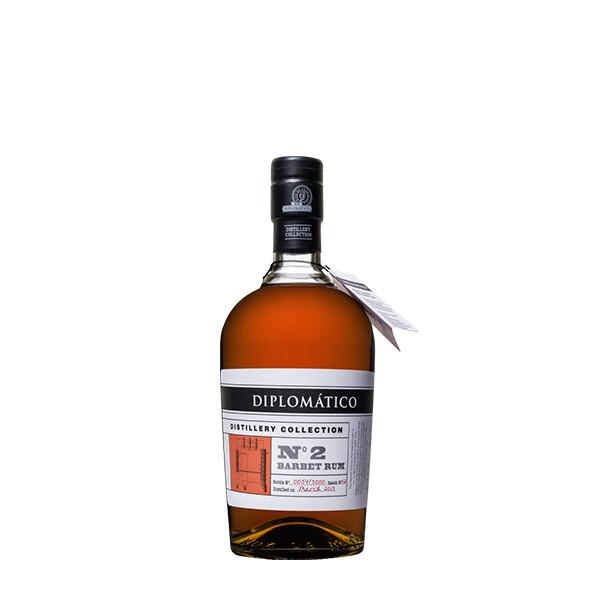 Rhum de Venezuela « Diplomatico »No2 Barbet Rum 40% vol – 70cl