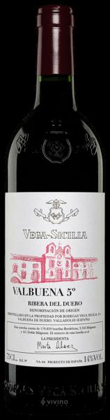 Valbuena  n 5Reserva - vega sicilia  2015